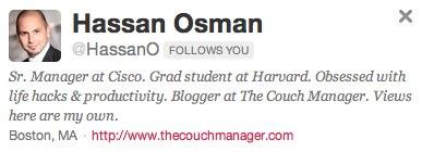 Hassan Osman on Twitter - Cisco