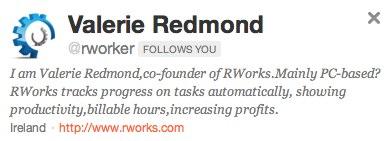 Valerie Redmond on Twitter - Rworks