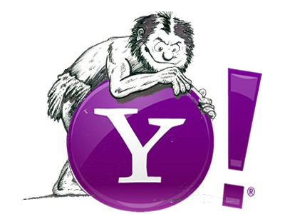 Yahoo Cave Man - No Telework Marissa Mayer