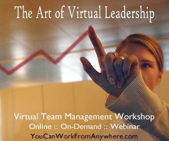 Win a free pass to The Art of Virtual Leadership Webinar